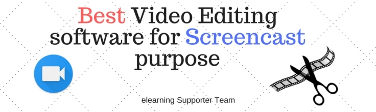 best video editing software for screencast purpose