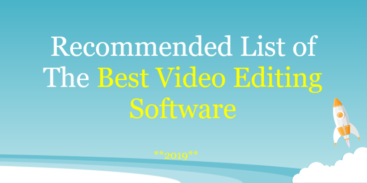 best video editing software for windows list
