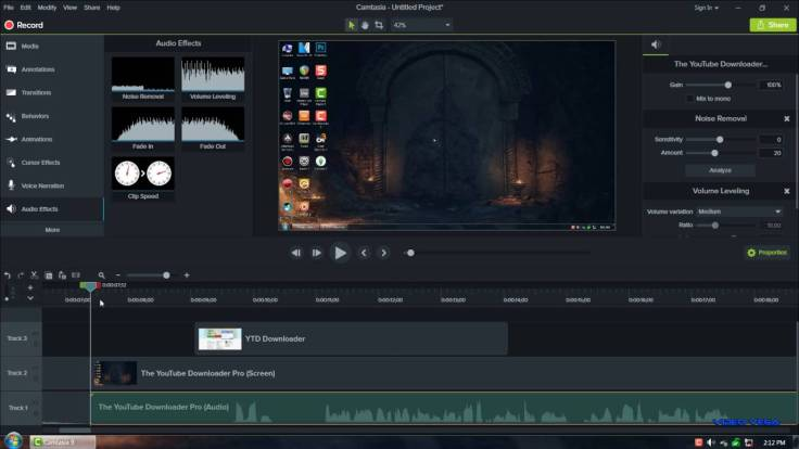 Camtasia Studio 9 video editor