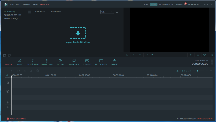 filmora wondershare video editors