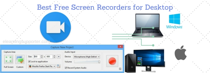 Best Free Screen Recorders for Desktop