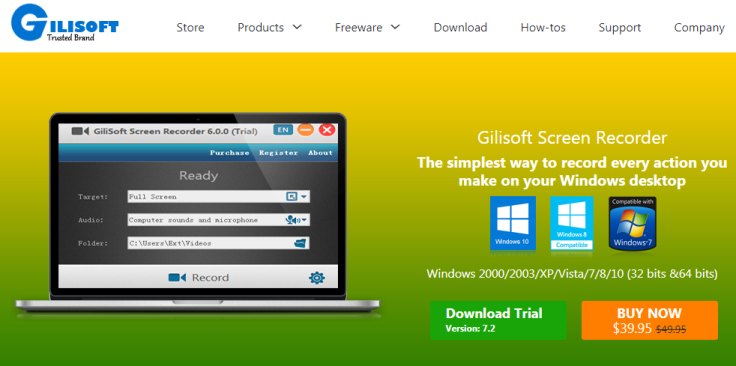 Gilisoft-screen-recorder