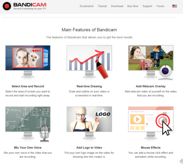 Badicam main features