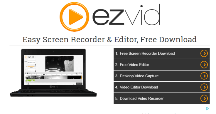 Ezvid free screen recorders