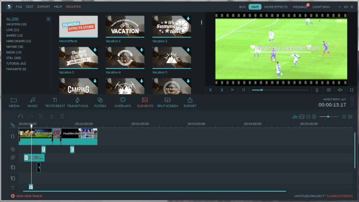 Filmora full feature interface-min