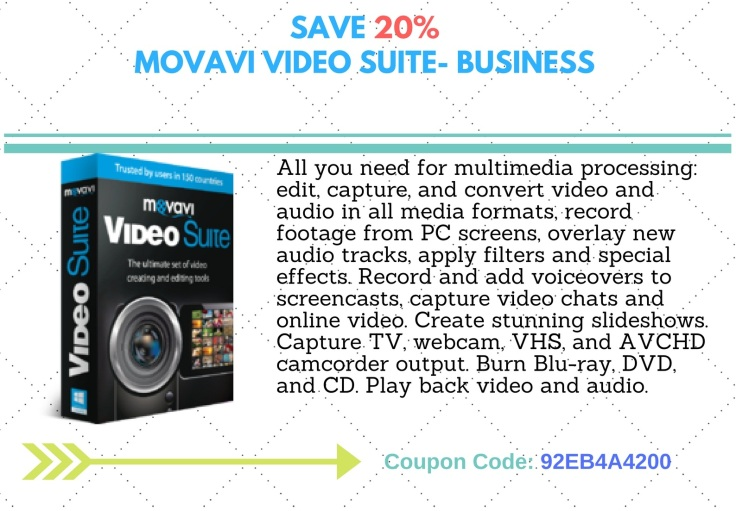 Movavie Video Suite- Business 20F