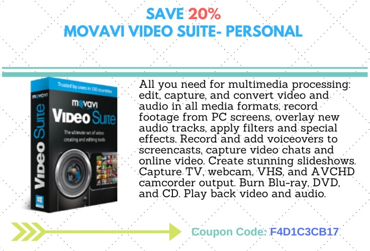 Movavie Video Suite- Personal 20F