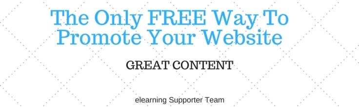 The best way to promote website for free