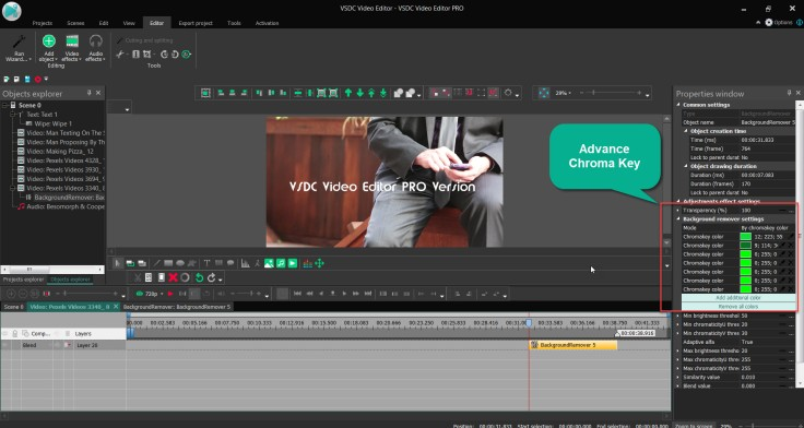 VSDC Pro Editor