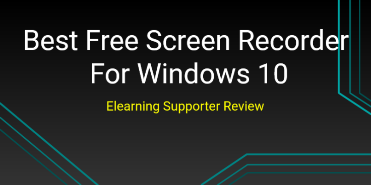 Best free screen recorder for Windows 10