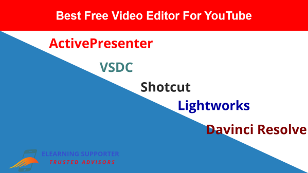 Top 5 Best Free Video Editors For YouTube in this article!