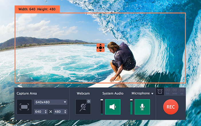 Movavi screen capture software