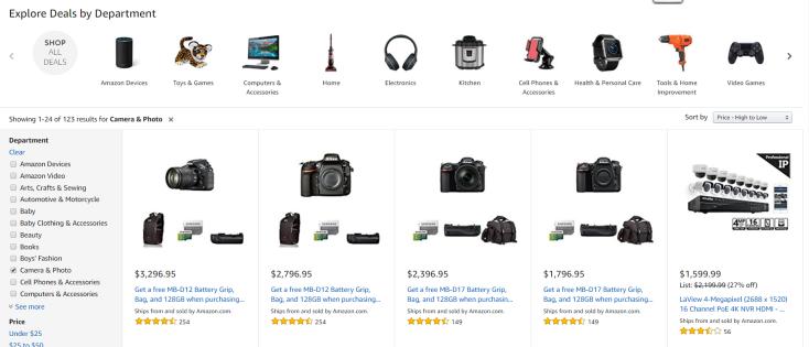 Amazon Cyber Monday Store