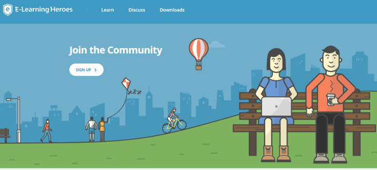 Articulate E-learning Hero community