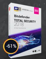 Bitdefender Total internet security 2018