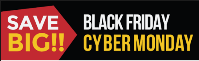2018 Black Friday & Cyber Monday Software Deals