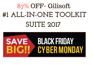 Gilisoft All-in-one Toolkit Suite 2017 Black Friday