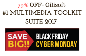 Gilisoft Multimedia Toolkit Suite 2017 Black Friday