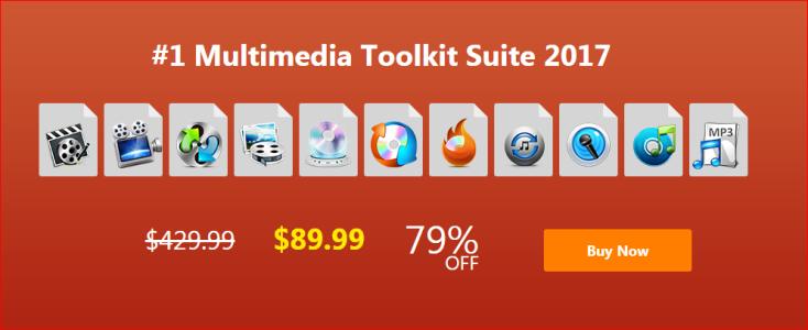 Gilisoft Multimedia Tools kit suite 2017 Black Friday