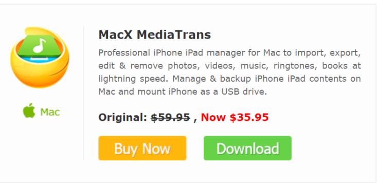 MacX Media Trans Black Friday 2017