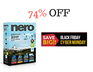 Nero 2017 Platinum Black Friday