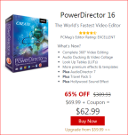 PowerDirector 16 Black Friday deal