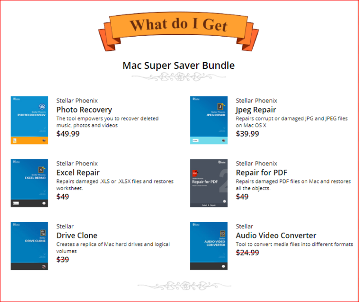 Stellar Supper Save Bundle Mac 2017