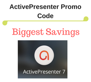 10% OFF ActivePresenter 7