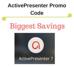10% OFF ActivePresenter 7