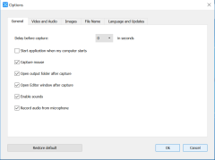 DVDvideosoft General setting