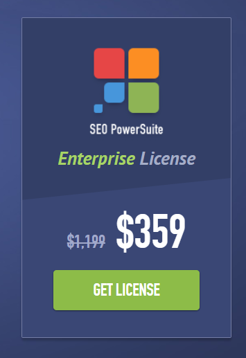 Seo Powersuite Enterprise License 70% OFF
