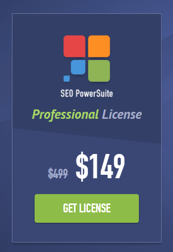 Seo Powersuite Professional License 70% OFF
