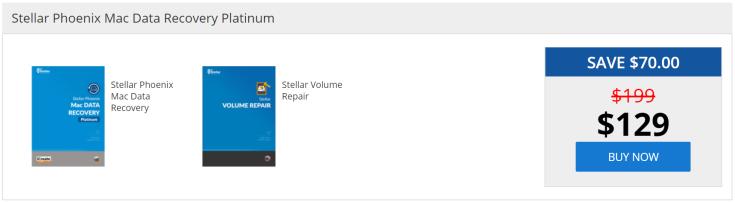 Stellar Phoenix Mac Data Recovery Platinum