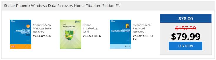 Stellar Phoenix Windows Data Recovery Home-Titanium Edition-EN