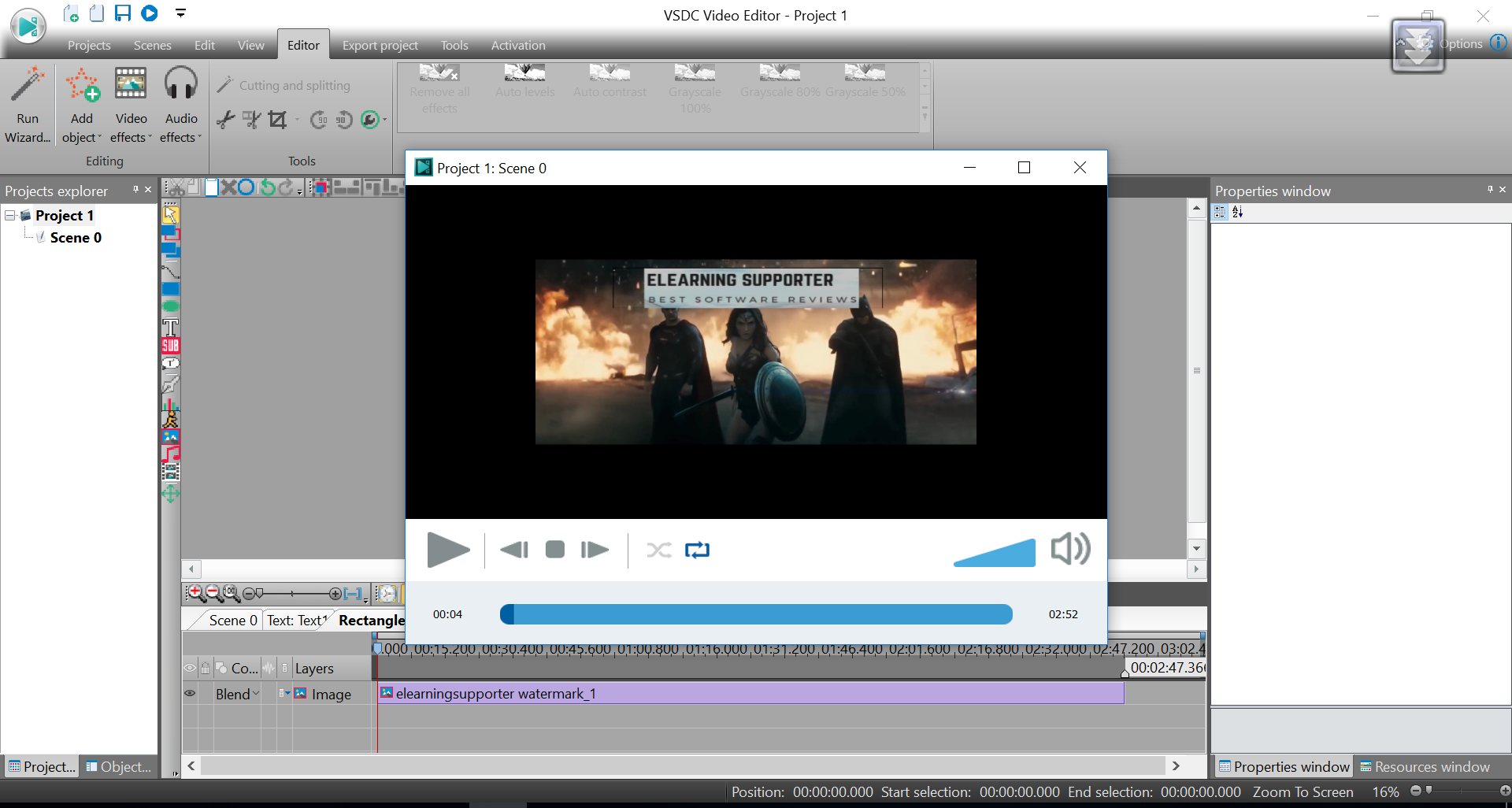 free video editing software no watermark mac