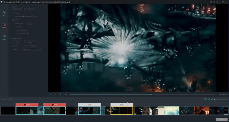 Filmora Action Cam Tool