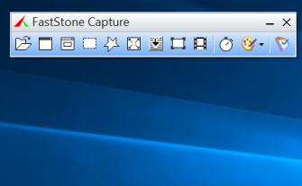 FScapture Capturing toolbar