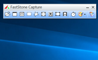 FScapture Capturing toolbar