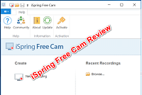 iSpring Free Cam Review – Elearning Supporter