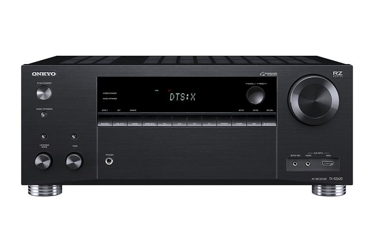 Onkyo Rz Series Audio and video component receiver Black