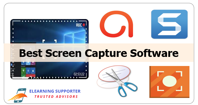 Best Screen Capture Software: ActivePresenter, Snagit 2018, Snipping Tool and Icecream
