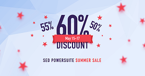 60% Off SEO POWERSUITE
