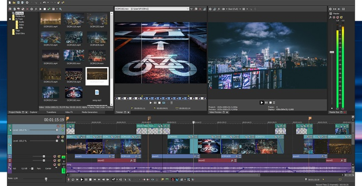 VEGAS Pro 15 - Best Professional Video Editing Software For Filmmakers