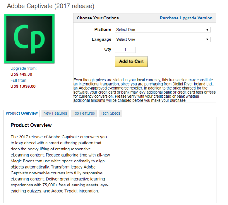 Adobe Captivate License Price Is Not What SMEs can reach!