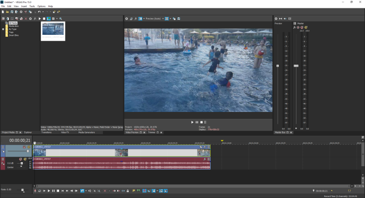 VEGAS Pro 15 is the fastest video editor!