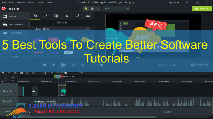 5 Best Tools To Create Better Software Tutorials