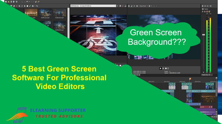5 best green screen software for professional video editors
