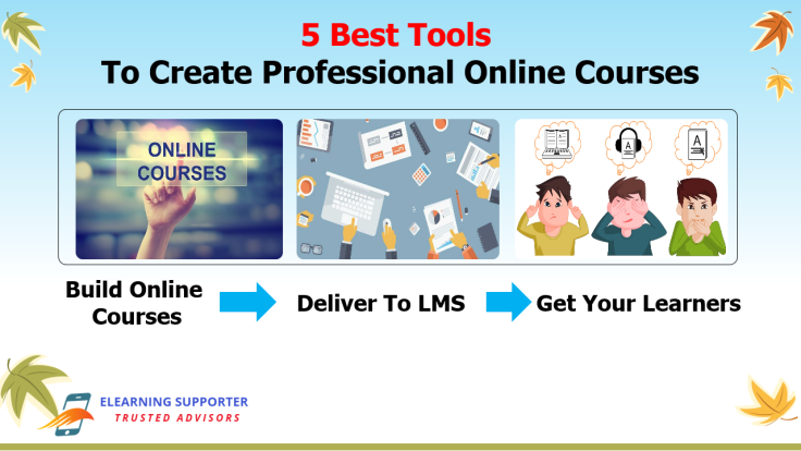 5 Best Tools To Create Professional Online Courses