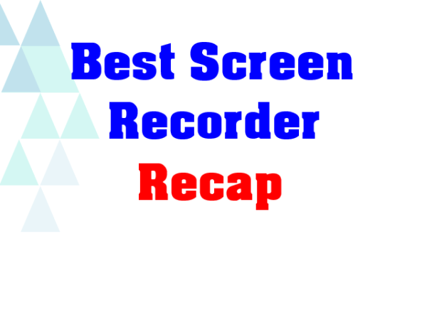 List of The Best Screen Recorders we've reviewed!