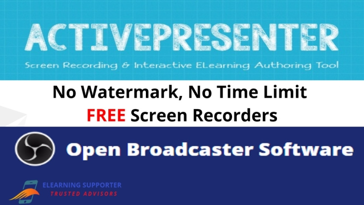 These 2 Powerful Screen Recorders Has No Watermark, No Time Limit!